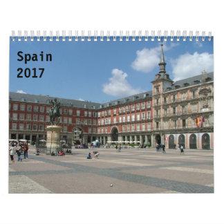 Spanien 2017 abreißkalender