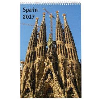Spanien 2017 kalender