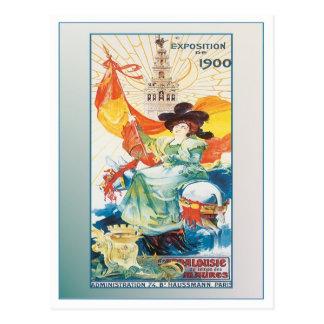 Spanien-Ausstellung Postkarte