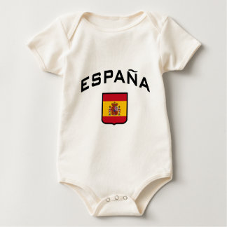 Spanien Baby Strampler