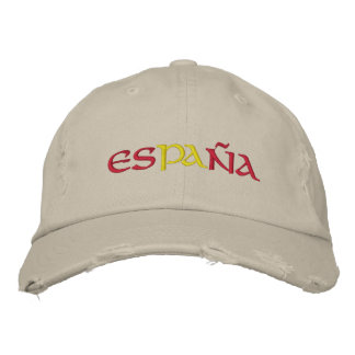 Spanien Bestickte Baseballkappe