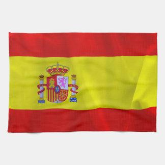 Spanien-Flagge Küchenhandtuch