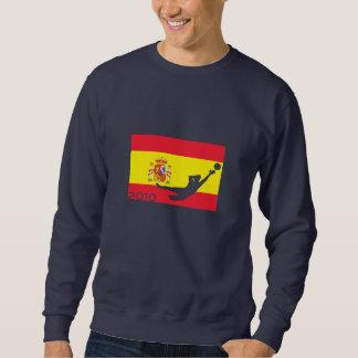 Spanien-Flaggen-Schalen-T - Shirt