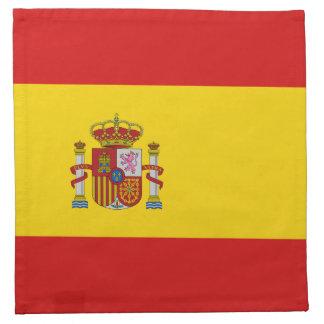 Spanien-Flaggen-Serviette Stoffserviette
