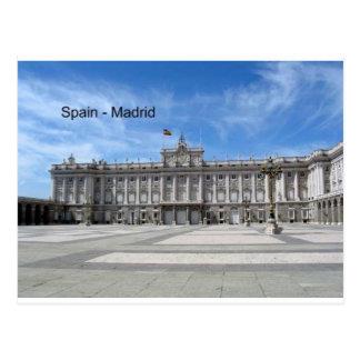 Spanien, Madrid Plaza de la Armería (St.K) Postkarte