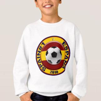 Spanien Nr. 1 2010 Fußball-Geschenk Sweatshirt