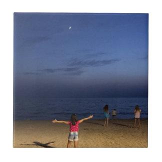 Spanien-Sonnenuntergang Fliese