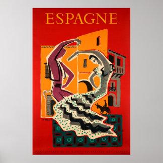 Spanien, Spanien, Reise-Plakat Poster