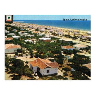 Spanien, Umbrien Huelva Postkarte