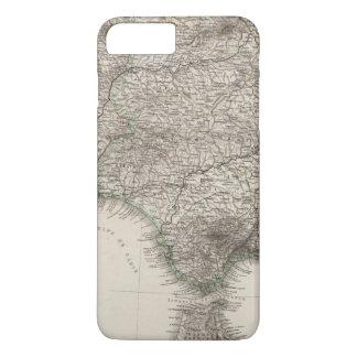 Spanien und Portugal, vier Blätter iPhone 8 Plus/7 Plus Hülle