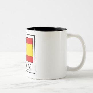 Spanien Zweifarbige Tasse