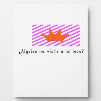 Spanisch-Dummkopf Fotoplatte