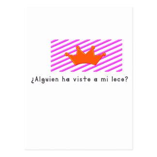 Spanisch-Dummkopf Postkarte