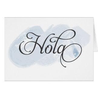Spanisch - Hola Karte