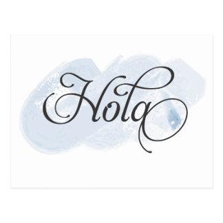 Spanisch - Hola Postkarte