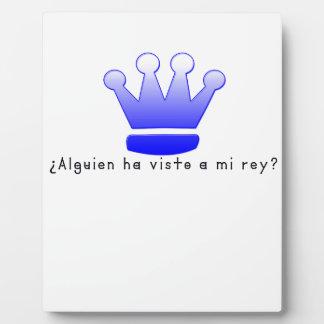 Spanisch-König Fotoplatte