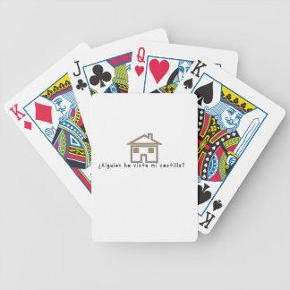 Spanisch-Schloss Bicycle Spielkarten