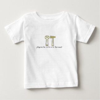 Spanisch-Schmied Baby T-shirt
