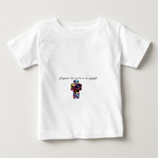 Spanisch-Vati Baby T-shirt