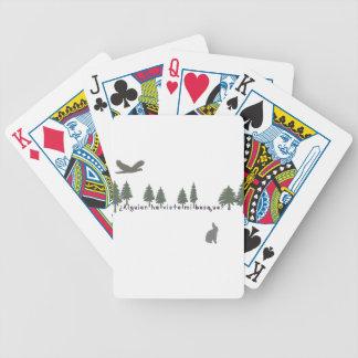Spanisch-Wald Bicycle Spielkarten