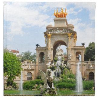 Spanische Architektur Serviette