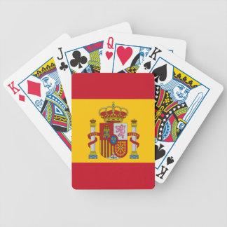 Spanische Flagge Bicycle Spielkarten