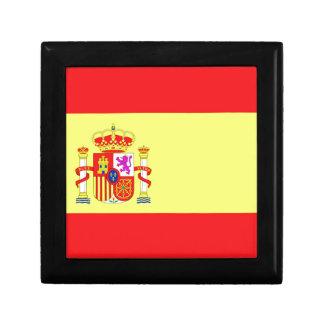 Spanische Flagge Erinnerungskiste
