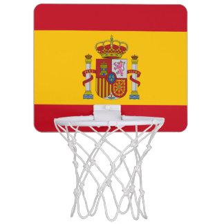 Spanische Flagge Mini Basketball Ring