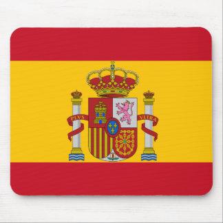 Spanische Flagge Mousepads