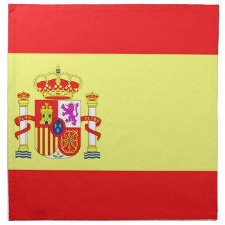 Spanische Flagge Serviette