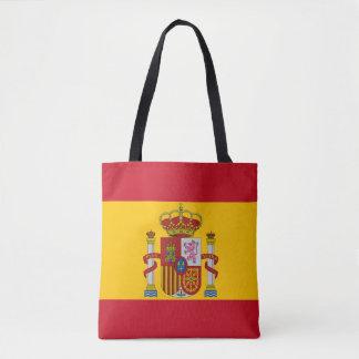 Spanische Flagge Tasche