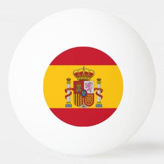 Spanische Flagge Tischtennis Ball