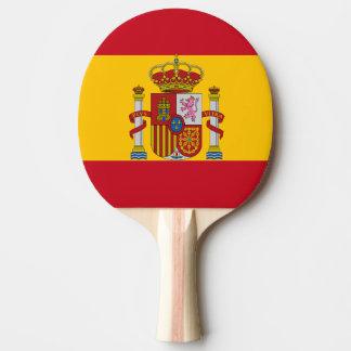 Spanische Flagge Tischtennis Schläger