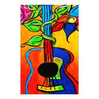 Spanische Gitarre Briefpapier