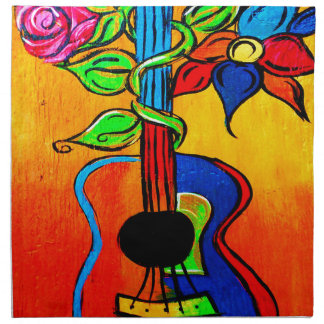 Spanische Gitarre Serviette