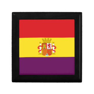 Spanische republikanische Flagge - Bandera Erinnerungskiste