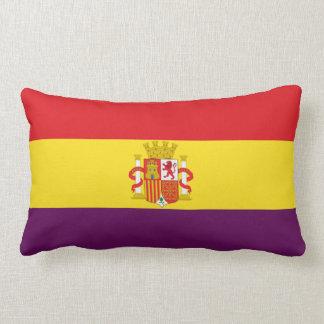 Spanische republikanische Flagge - Bandera Lendenkissen
