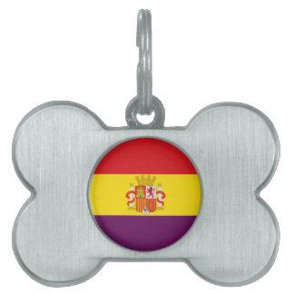 Spanische republikanische Flagge - Bandera Tiermarke