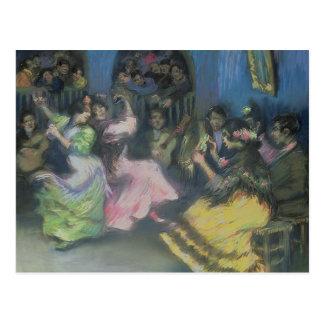 Spanische Sinti und Roma-Tänzer, 1898 Postkarte