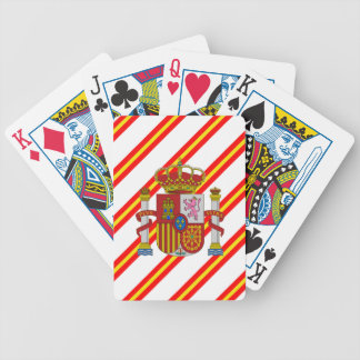 Spanische Streifenflagge Bicycle Spielkarten