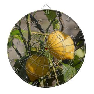 Spanische Zitronen-Grafiken Dartscheibe