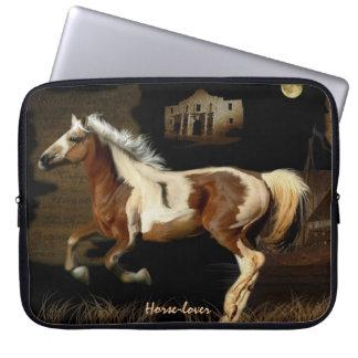 Spanischer Mustang neue Worlde Pferd-Liebhaber Laptop Sleeve