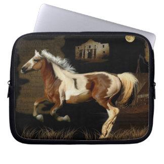 Spanischer Mustang neue Worlde Pferd-Liebhaber Laptopschutzhülle