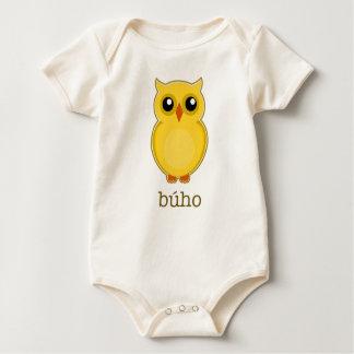 Spanisches Eule Búho Shirt für Baby und Kinder