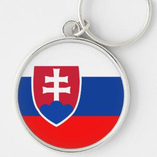 Spanisches Nationssymbol Slowakei-Landesflagge Schlüsselanhänger
