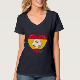 Spanish Soccer Team Spain Football FUSSBALL T-Shirt