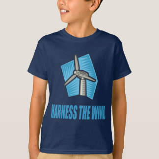 Spannen Sie den Wind vor T-Shirt