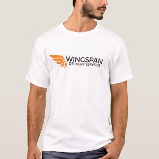 SPANNWEITE Zustelldienst-Logo-T - Shirt