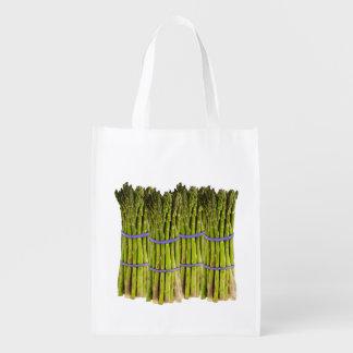 Spargel-wiederverwendbare Tasche Wiederverwendbare Einkaufstasche