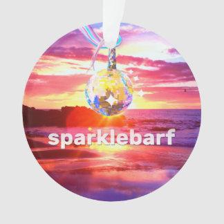 Sparklebarf Ornament